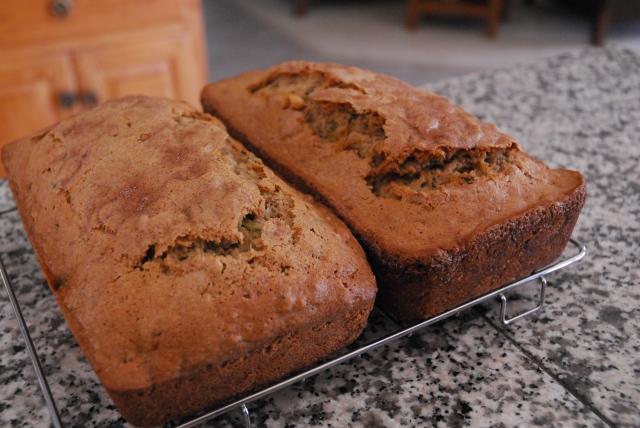 zucchini bread 9