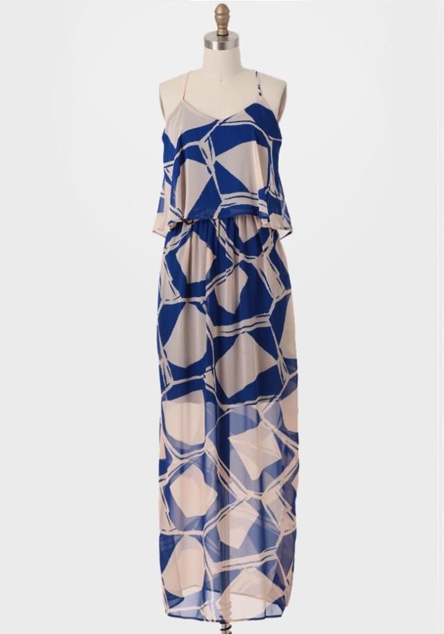 blue arcadia dress