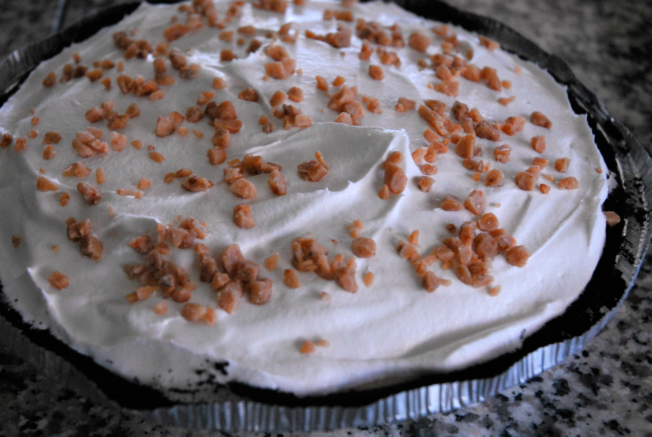 Treat of the Month- Coffee Ice Cream Pie | My Daughter and I