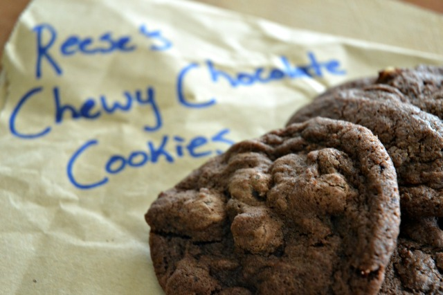 Reeses' double chocolate cookies 1