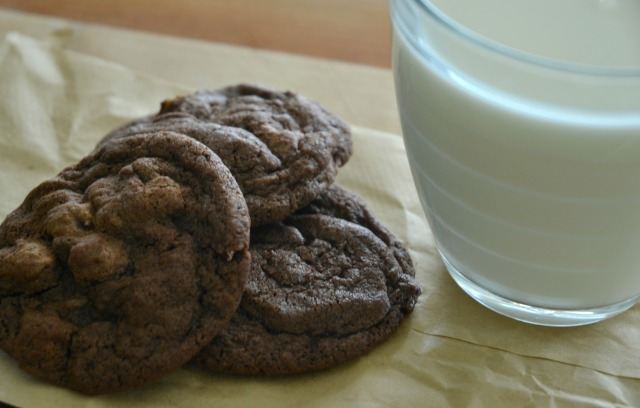 Reeses' double chocolate cookies 2