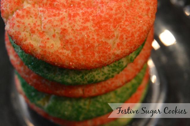 festive sugar cookies 1
