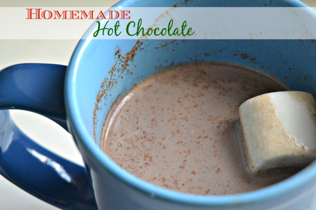 homemade hot chocolate 1