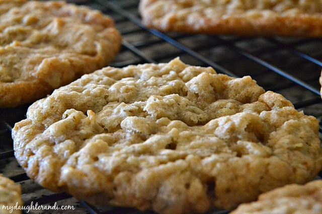 My Daughter and I Brown Sugar Oatmeal Cookies 2