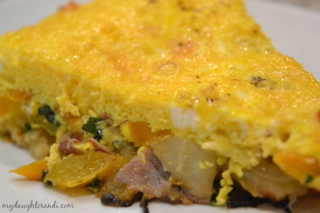 My Daughter and I Frittata 1