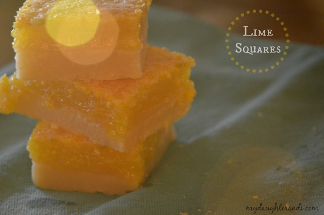 Lime Squares 1 - My Daughter and I