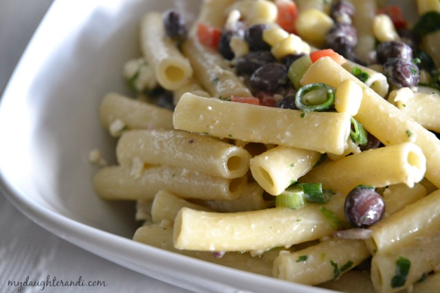 Cilantro Lime Pasta Salad 2- My Daughter and I