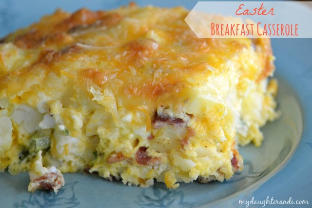 easter breakfast casserole 1