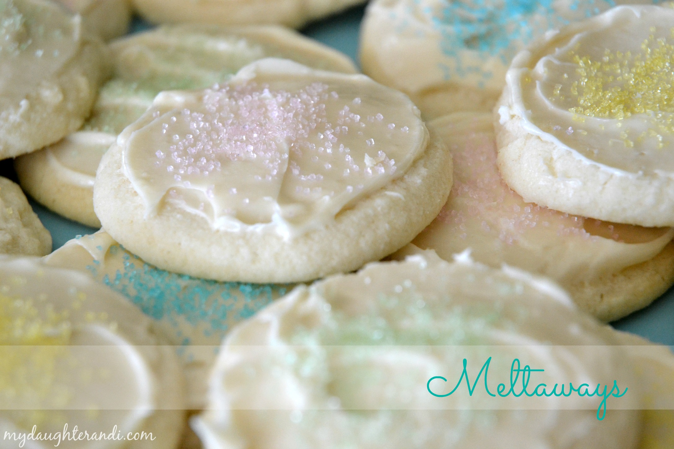 Melt away cookie recipes