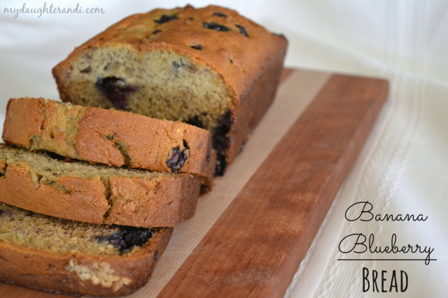 My Daughter and I- Banana Blueberry Bread (photo 1 of 2)