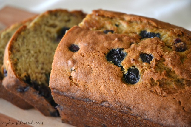 My Daughter and I- Banana Blueberry Bread (photo 2 of 2)