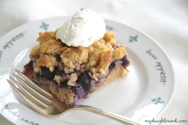 My Daughter and I Blueberry Cobbler Bars (photo 22)