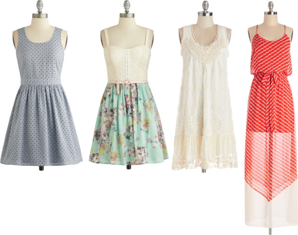 modcloth favorite dresses