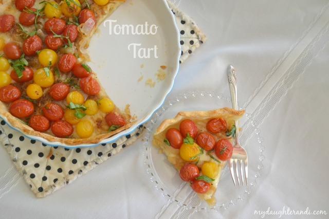 My Daughter and I Tomato Tart 1