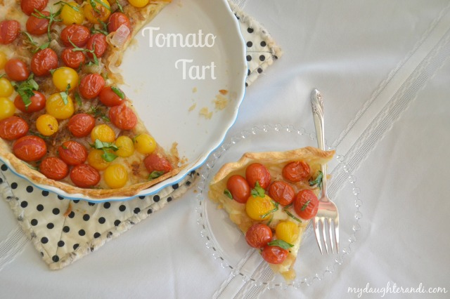 My Daughter and I Tomato Tart 1