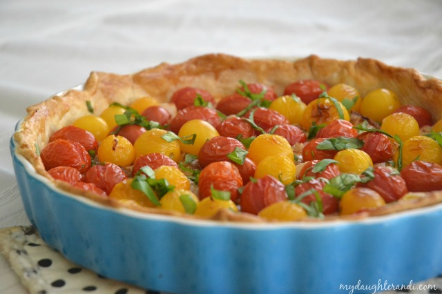 My Daughter and I Tomato Tart 2