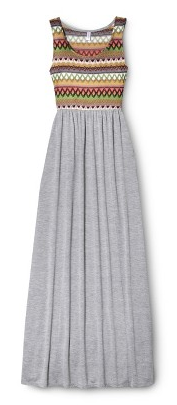 maxi dress embroidered
