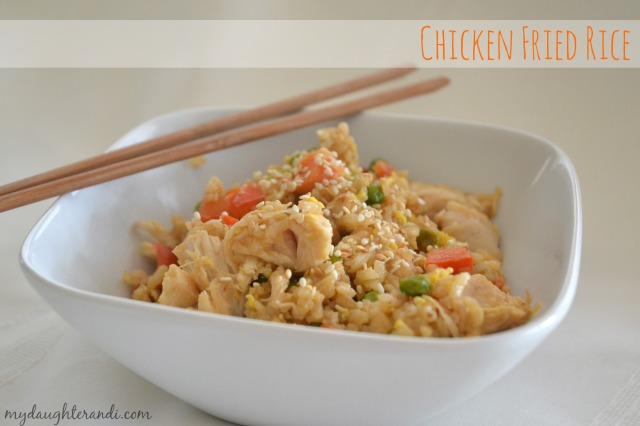 My Daughter and I- Chicken Fried Rice