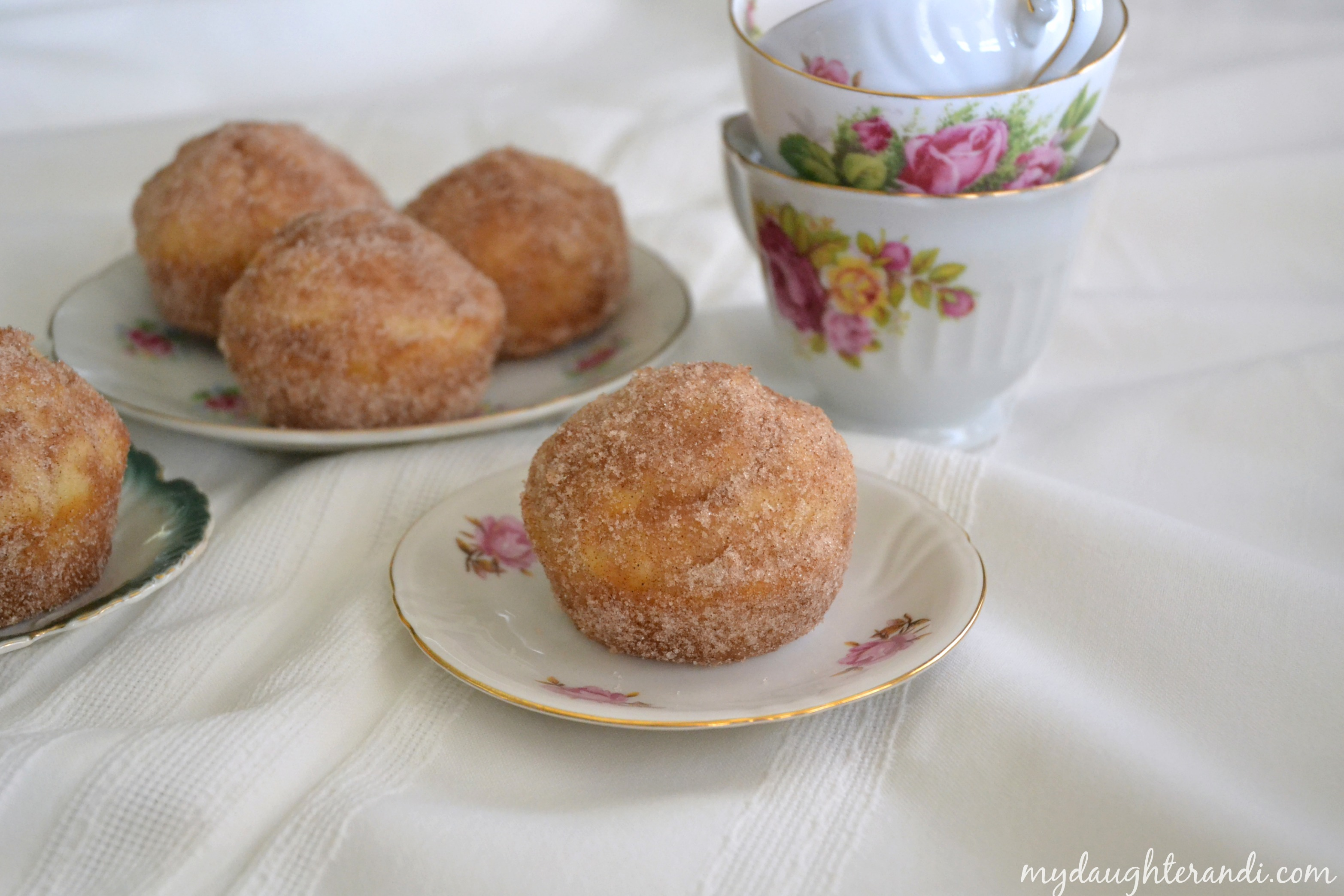French Breakfast Puffs | My Daughter and I