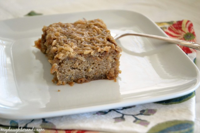 My Daughter and I- Oatmeal Cake 2