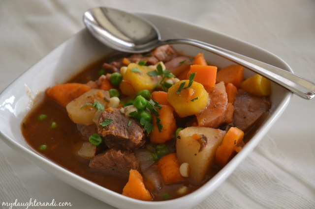 My Daughter and I- Crockpot Beef Stew 1