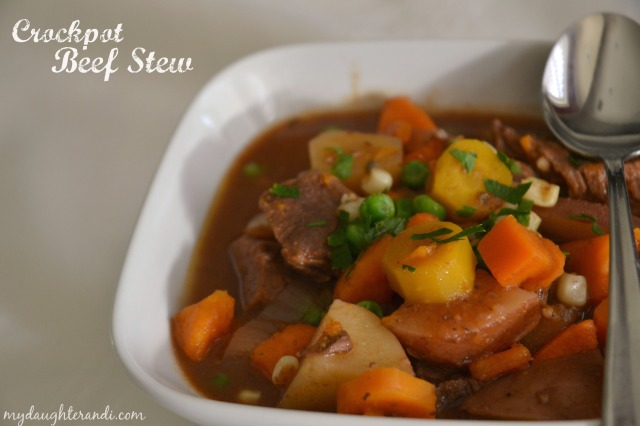 My Daughter and I- Crockpot Beef Stew