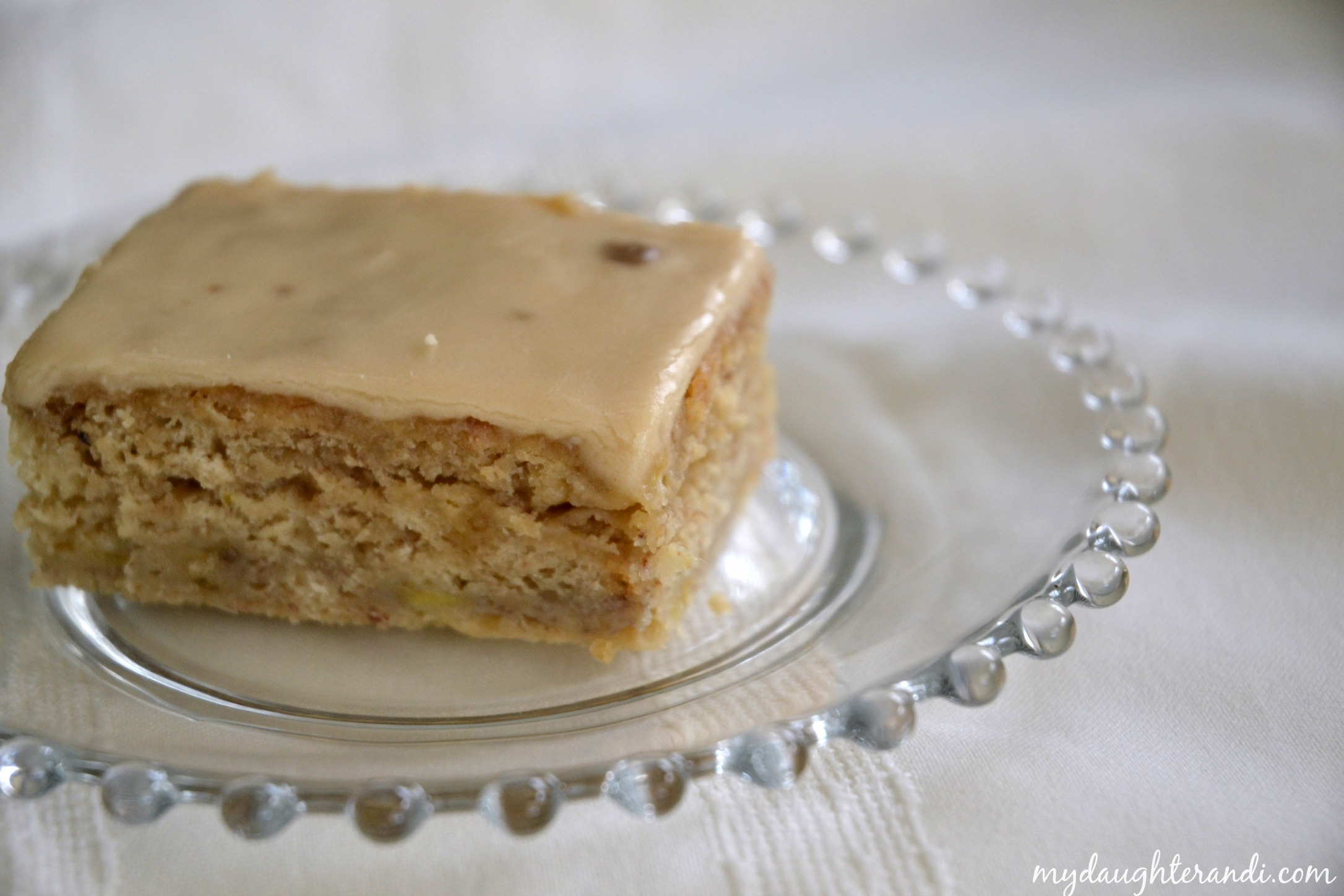 Cake Recipes With Icing Sugar: Browned Butter Banana Cake With Brown Sugar Frosting