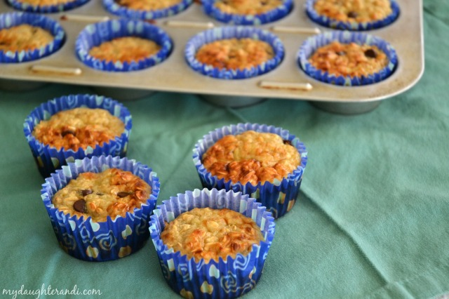 My Daughter and I- {Ridiculously Easy} Banana Oat Greek Yogurt Muffins 1