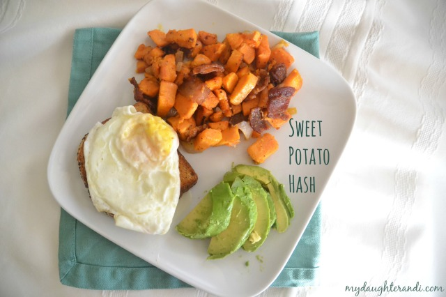 My Daughter and I- Sweet Potato Hash
